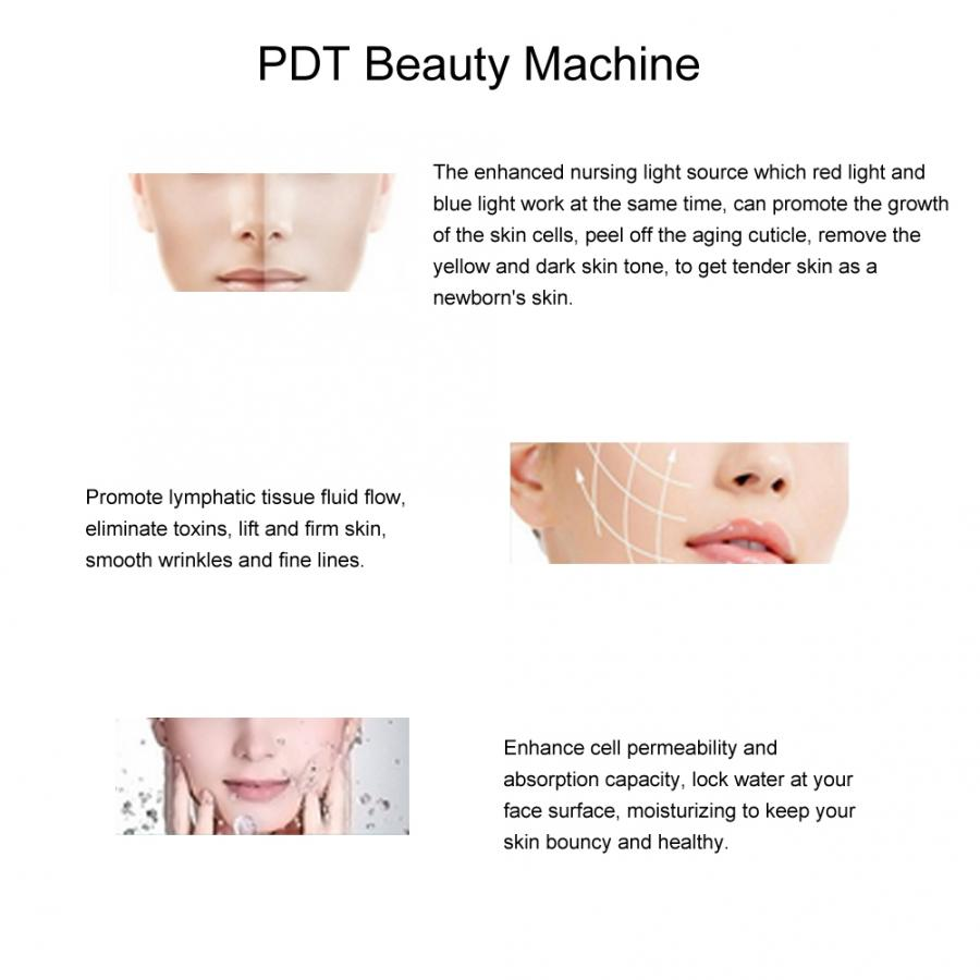 Anti-Aging Acne Removal LED Light Therapy Machine Machine.