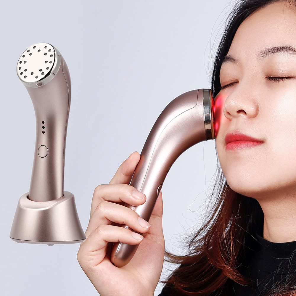 Rechargeable Red and IR Light Therapy Device